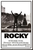 Rocky - Movie Score Arms Up Stretched Canvas Print