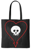 Alkaline Trio - Heartskull Tote Bag Tote Bag