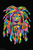 Lion Rasta Prints
