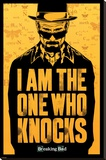 Breaking Bad - I am the one who knocks Stretched Canvas Print