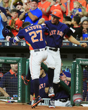 Jose Altuve & Carlos Correa 2016 Action Photo