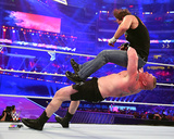 Brock Lesnar Wrestlemania 32 Action Photo