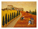 Village Landscape Prints by Lowell Herrero