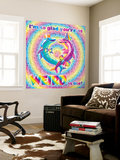 As Weird As Me Wall Mural by Lisa Frank