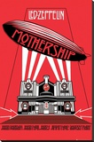 Led Zeppelin -Mothership Stretched Canvas Print
