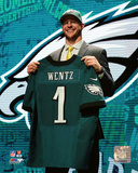 Carson Wentz 2016 NFL Draft 2 Draft Pick Photo