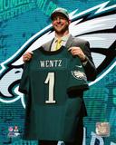 Carson Wentz 2016 NFL Draft 2 Draft Pick Photo