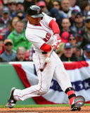 Mookie Betts 2016 Action Photo