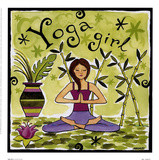 Yoga Girl Prints by Jennifer Brinley