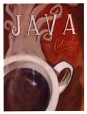Java Columbia Poster by Darrin Hoover