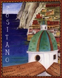 Positano Poster by Katharine Gracey