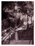 Les Escaliers De Montmartre Posters par Teo Tarras