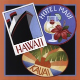 Travel-Hawaii Poster by Stephanie Stouffer