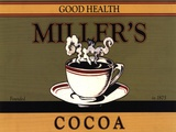 Miller's Cocoa Print by Catherine Jones
