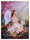 An Angel's Spirit 高品質プリント : ドナ・ゲルシンガー