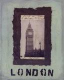 London Plakater af Jan Weiss