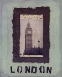 London Prints by Jan Weiss