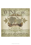 Wine Phrases IV Poster by  Studio W