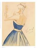 Blue Dress II Stampe di Tara Gamel