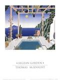 Aegean Garden Plakater af Thomas Mcknight