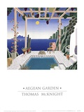 Aegean Garden Prints by Thomas Mcknight