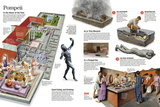 Infographic About Everyday Life in the Roman City of Pompeii Prints