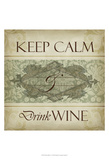 Wine Phrases V Prints by  Studio W