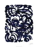 Indigo Swirls II Limited Edition by Jodi Fuchs
