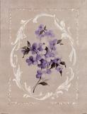 Framed Lilac I Art by Rue de la Paix