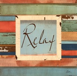 Relax Posters by Grace Pullen