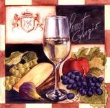 Pinot Grigio Print by Geoff Allen