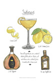 Classic Cocktail - Sidecar Prints by Naomi McCavitt