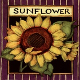 Sunflower Seed Packet Posters by Susan Winget