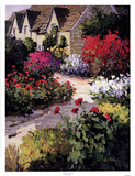 Village Walkway Prints by Kent Wallis