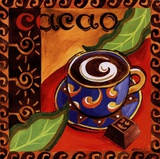 Cacao Chocolate Posters by Jennifer Brinley