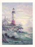 Lighthouse Cove Prints by Carl Valente