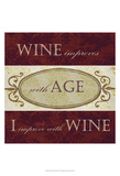 Wine Phrases III Prints by  Studio W
