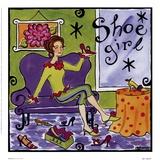 La ragazza delle scarpe Stampe di Jennifer Brinley