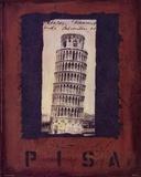 Pisa Posters af Jan Weiss
