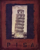 Pisa Posters by Jan Weiss