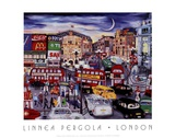 London Art by Linnea Pergola