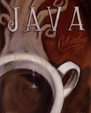 Java Columbia Posters by Darrin Hoover