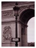 L'Arc De Triomphe Affiches par Teo Tarras