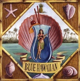 Blue Hawaiian Poster by Geoff Allen