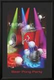 Joseph Charron- Beer Pong Party Posters by Joseph Charron