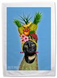 Pets Rock Fruit Tea Towel Regalos