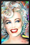 Theo Danella- Marilyn Monroe Electric Print by Theo Danella