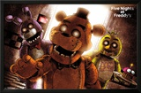 Five Nights At Freddy's- Scare Poster