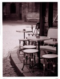 Cafe De Paix Prints by Teo Tarras