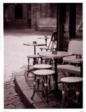 Cafe De Paix Prints by Teo Tarras